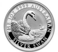 1 oz Silber Perth Mint Schwan 2019 ( diff.besteuert nach §25a UStG )