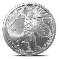 "1 oz Silber Warrior Series "" Spartan Warrior "" ( 19% Mwst )"