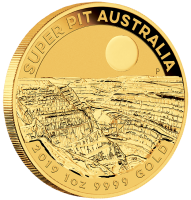 "1 oz Gold "" Super Pit "" Perth Mint 2019 in Kapsel - max 15.000"