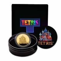 1 oz Gold 2021 Tetris™ in Kapsel / Box St. Basil's Cathedral - max. 100