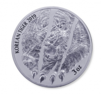 "3 oz Silber Korea "" Tiger "" 2019  max 2.800"