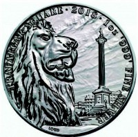 "1 oz Silber Royal Mint "" Trafalgar Square "" in Kapsel - Landmarks of Britain - max Mintage 50.000 ( diff.besteuert nach §25a UStG )"