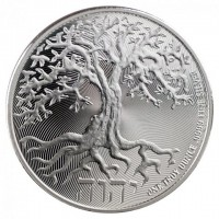"1 oz Silber Niue Tree of life 2021 "" Truth Series "" ( diff.besteuert nach §25a UStG )"