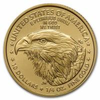 1/4 oz Gold USA American Eagle 2021- Type 2 / neues Design