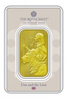 1 oz Gold The Royal Mint Una & Lion - max 4.000