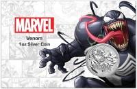 "1 oz Silber Perth Mint "" Venom - Marvel Comics "" in Coincard - max 1.000 ( diff.besteuert nach §25a UStG )"