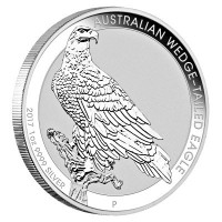 "1 oz Silber Australien Wedge-Tailed Eagle 2017 "" Perth Mint ""  ( diff.besteuert nach §25a UStG )"