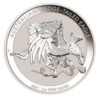1 oz Silber Australien Wedge-Tailed Eagle 2021 Perth Mint ( diff.besteuert nach §25a UStG )