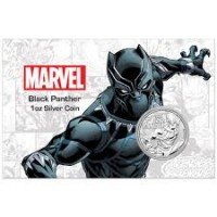 "1 oz Silber Perth Mint "" Black Panther - Marvel Comics "" in Coincard - max 1.000 ( diff.besteuert nach §25a UStG )"