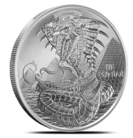 "1 oz Silber "" Egyptian Dragon "" - Serie World of Dragons 6te Ausgabe ( 19% Mwst )"
