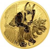 1 oz Gold Hades Perth Mint 2021 in Kapsel + COA