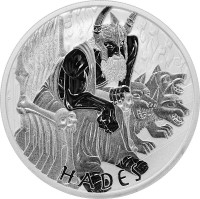 5 oz Silber Perth Mint Hades in Kapsel - max 450 Stk ( diff.besteuert nach §25a UStG )
