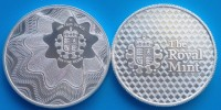 "1 oz Silber "" The Royal Mint "" - Motiv: OFFSET ( 19% Mwst )"