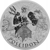 5 oz Silber Perth Mint Poseidon in Kapsel - max 450 Stk ( diff.besteuert nach §25a UStG )