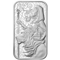 1 oz Silber Barren The Royal Mint Una & Lion - max. 35.000  - ( inkl. gültiger gesetzl. Mwst )