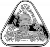"""1 oz Silber Australien """" Australian Shipwreck Series - Zeewijk in Kapsel 2021 - max. 20.000 Stk ( diff.besteuert nach §25a UStG )"""