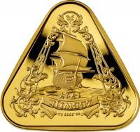 """1 oz Gold Australien """" Australian Shipwreck Series - Zeewijk """" in Kapsel 2021- max. 250 Stk"""