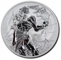 1 oz Silber Perth Mint Zeus BU in Kapsel - max 13.500 ( diff.besteuert nach §25a UStG )