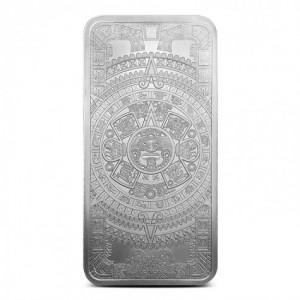 1 oz Silberbarren Aztec Calendar ( 19% Mwst )