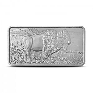 """10 oz Silber """" Buffalo """" Barren ( 19% Mwst )"""