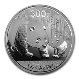 1 Kilogramm / 1000 Gramm Silber Panda 2011 Proof in Slab MS69  ( diff.besteuert nach §25a UStG )
