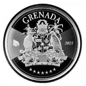1 oz Silber Grenada EC8 Serie 2021 ( diff.besteuert nach §25a UStG )