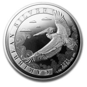 1 oz Silber Barbados Pelican 2021 - max. 10.000 ( diff.besteuert nach §25a UStG )