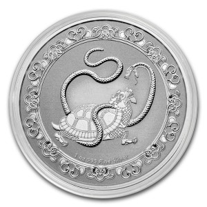 "1 oz Silber New Zealand Mint Niue "" The Black Turtle ""  in Kapsel - max 10.000 ( diff.besteuert nach §25a UStG )"