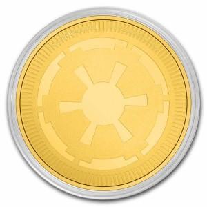 "1 oz Gold Niue "" Star Wars Galactic Empire / New Zealand Mint "" 2021 - max 250 ( diff.besteuert nach §25a UStG )"