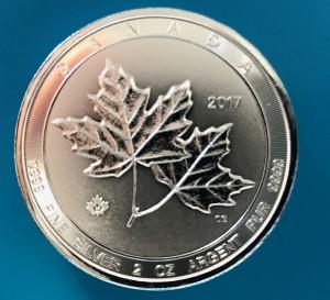 2 oz Silber Royal Canadian Mint Twin Maple Leaf div. Jahre ( diff.besteuert nach §25a UStG )