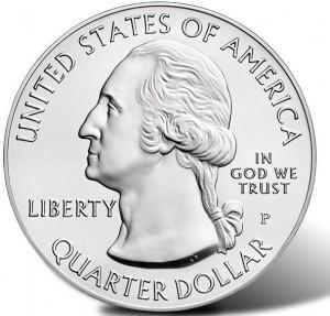 "5 oz Silber USA "" America the beautiful "" Motiv/Jahrgang unserer Wahl / keine II.Wahl ( diff.besteuert nach §25a UStG )"
