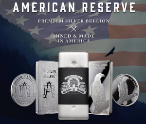 10 oz Silber Barren American Reserve Silver Asahi USA ( inkl. gültiger gesetzl. Mwst )