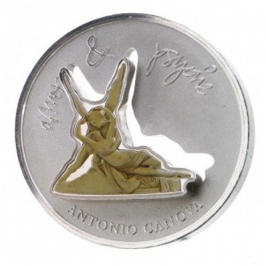 1 oz 925/1000 Silber Divine Sculptures Amor und Psyche - max. 1000 Stk ( inkl. gültiger gesetzl. Mwst )