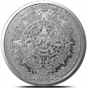 1 oz Silber Round Aztec Calendar ( inkl. gültiger gesetzl. Mwst )