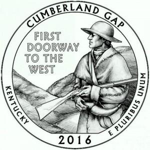 """5 oz Silber USA """" America the beautiful """" Kentucky - Cumberland Gap """" ( diff.besteuert nach §25a UStG )"""
