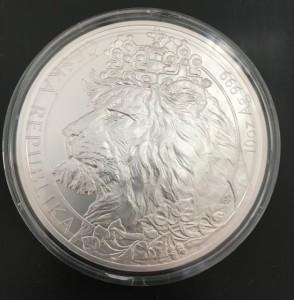 10 oz Silber Czech Lion 2021 in Kapsel - max 500 Stk ( diff.besteuert nach §25a UStG )