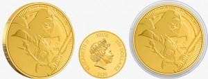 "1 oz Gold Darth Vader "" New Zealand Mint "" 2020 - max 1.0000"
