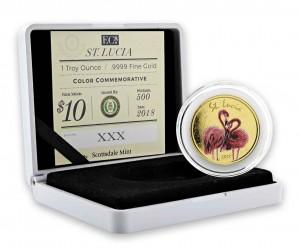 1 oz Gold Proof-Color EC8 Serie Scottsdale Mint / in Box - Auswahl des Motives / Landes bei uns ( Auflage 500 )