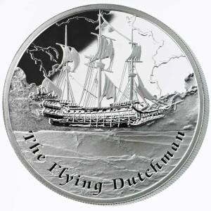 1 oz Silber Proof Perth Mint Famous Ships The Flying Dutchman - max. 3000 ( inkl. gültiger gesetzl. Mwst )