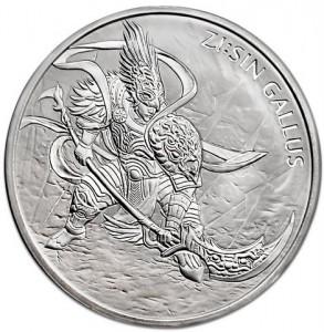 "1 oz Silber Südkorea "" Gallus "" 2017 1te Ausgabe - max Auflage 33.300"