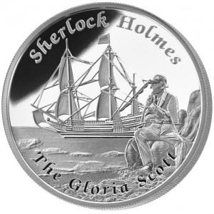 1 oz Silber Proof Perth Mint Famous Ships The Gloria Scott - max.3000 ( inkl. gültiger gesetzl. Mwst )