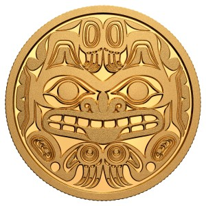 1 oz Gold Canada Haida Maske 2020 inkl. Box - max 400 Stk