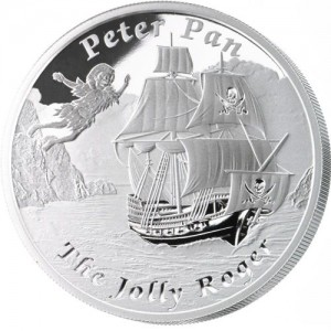 1 oz Silber Proof Perth Mint Famous Ships The Jolly Roger - max.3000 ( inkl. gültiger gesetzl. Mwst )