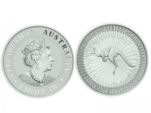 25 X 1 oz Silber Känguru Perth Mint 2020  / 2021 ( diff.besteuert nach §25a UStG )