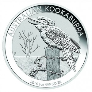 1 oz Silber Kookaburra in Kapsel / div. Jahrgang ( diff.besteuert nach §25a UStG )