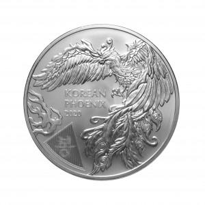 1 oz Silber Südkorea 2020 Phoenix