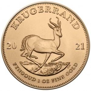 1 oz Gold Krügerrand 2021 ( Neuware )