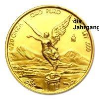 1/20 oz Gold Mexiko Libertad ( div. Jahrgang )