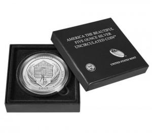 "5 oz Silber USA "" America the beautiful "" Nebraska - Homestead uncirculated /  "" Sammlerausgabe "" inkl.Box ( diff.besteuert nach §25a UStG )"