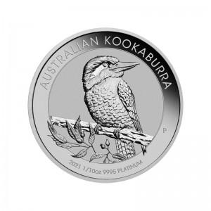 1/10 oz Platin Kookaburra 2021 - max. 15.000 ( diff.besteuert nach §25a UStG )